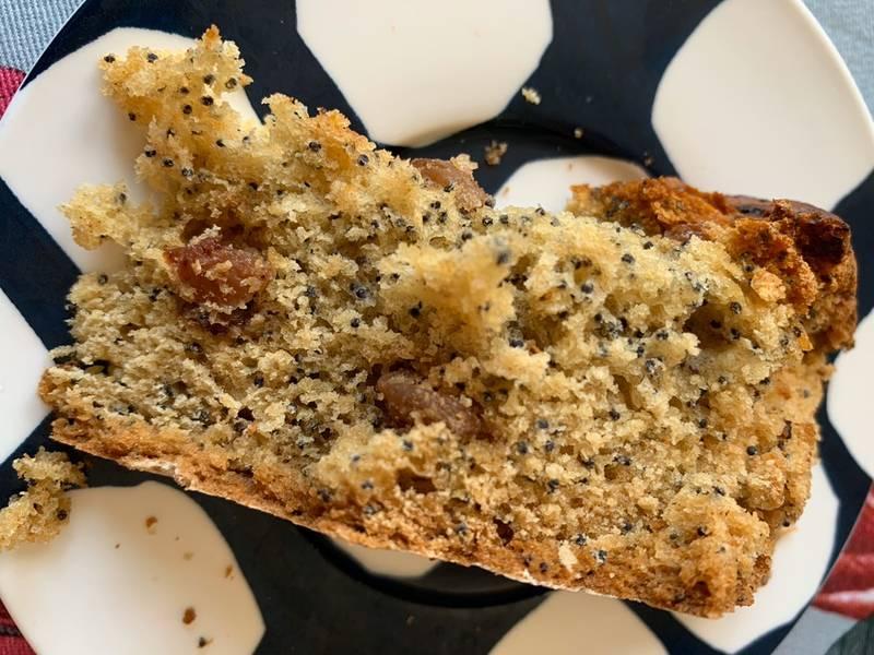 Рецепт макового печенья с изюмом